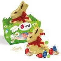Premium Osternest mit Schokolade von Lindt
