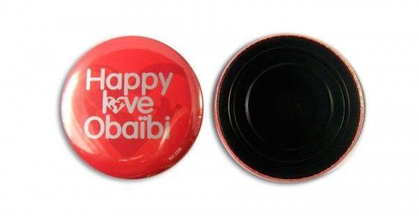 56 mm Button mit Magnet