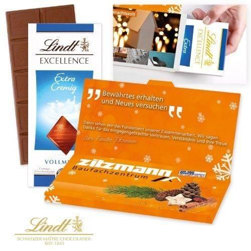 """Grußkarte Lindt """"Excellence"""" (100 g)"""