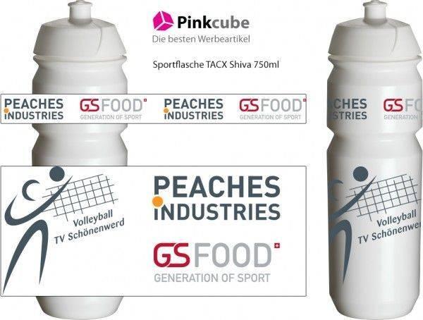 werbegeschenk-bedrucken-trinkflasche-volleyball