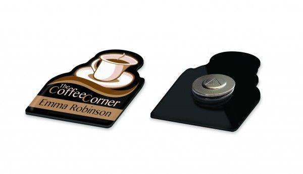 Tulip Badge Dome Magnet
