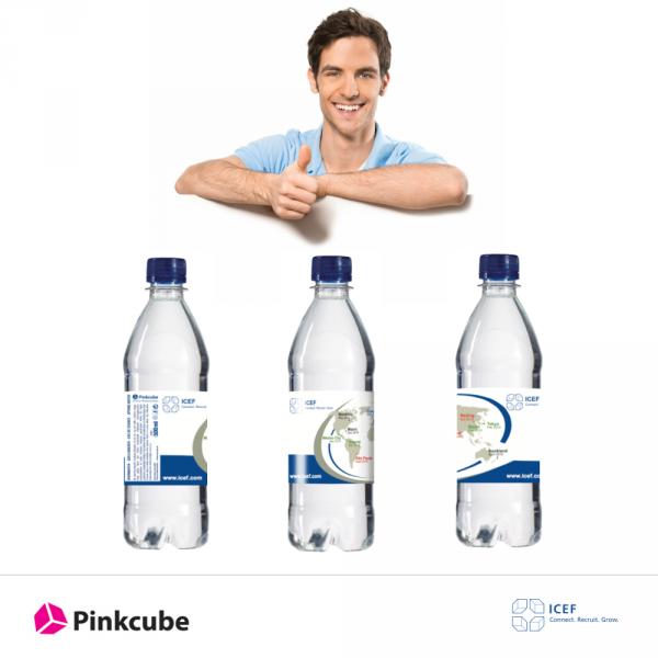 ICEF-Wasserflaschen