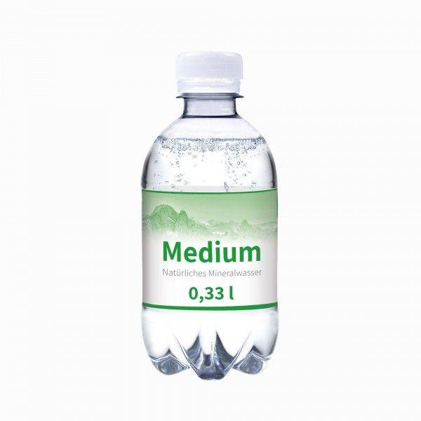 330 ml Wasserflasche medium