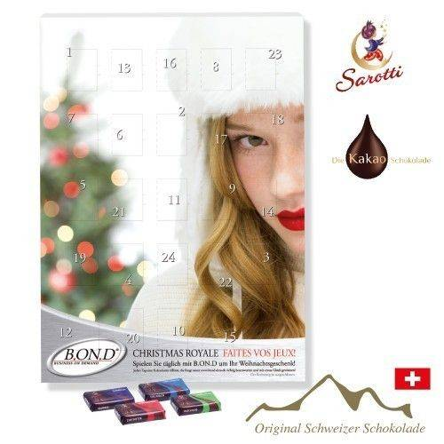 Wand-Adventskalender Business Exklusiv