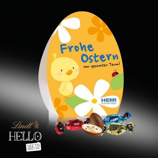 """Osterei mit Lindt """"HELLO"""""""