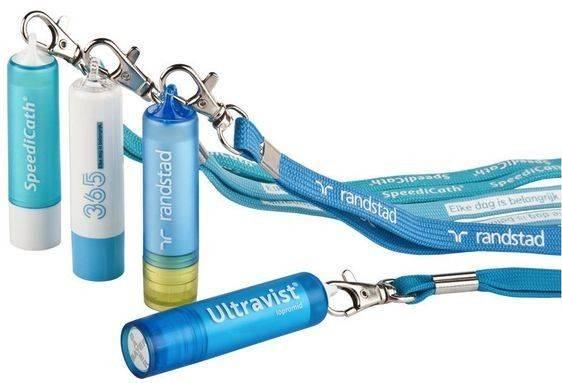 Schlüsselband mit Lippenpflegestift