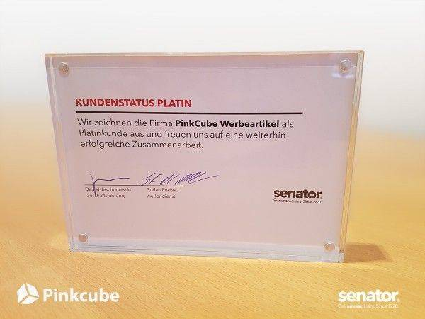 Pinkcube-Senator-Platin