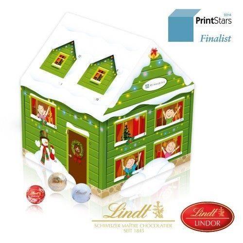 Adventskalender Weihnachtshaus