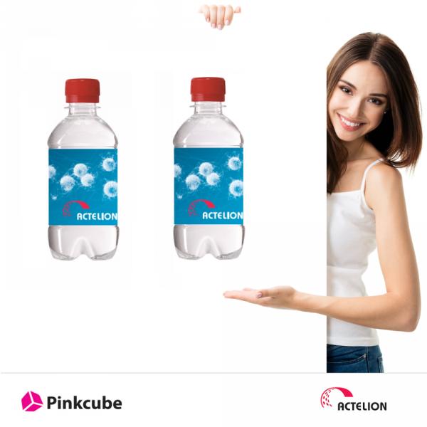Actaleon-Wasserflaschen