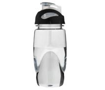 Elegante Sportflasche mit durchsichtigem Deckel-Kopf