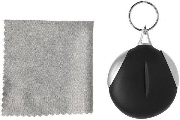 Schlüsselanhänger mit Reinigungstuch