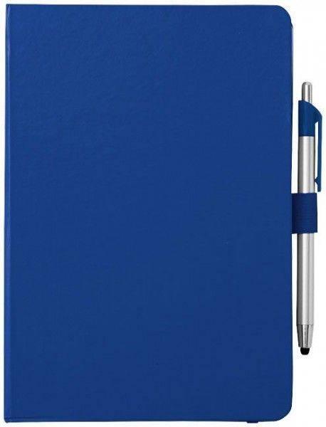 Crown A5-Notizbuch und Stylus-Kugelschreiber