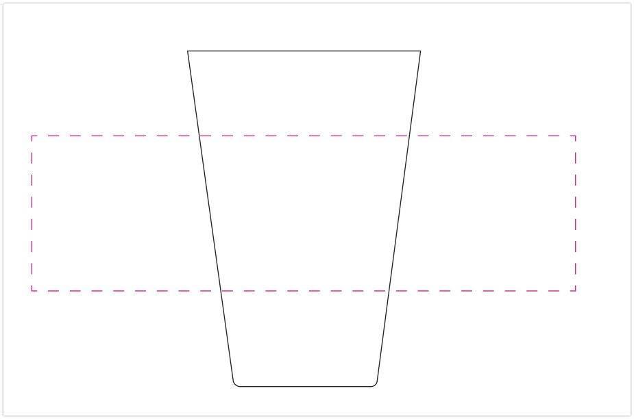 Trinkbecher-Eco-Siebdruck