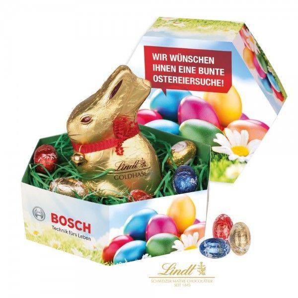 Großes Osternest mit Schokolade von Lindt
