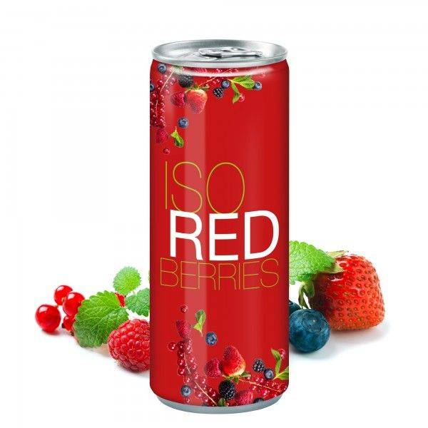 Iso Drink Redberries Classic 250 ml