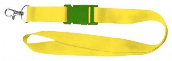 Schlüsselband mit verschieden farbigen Schnallen