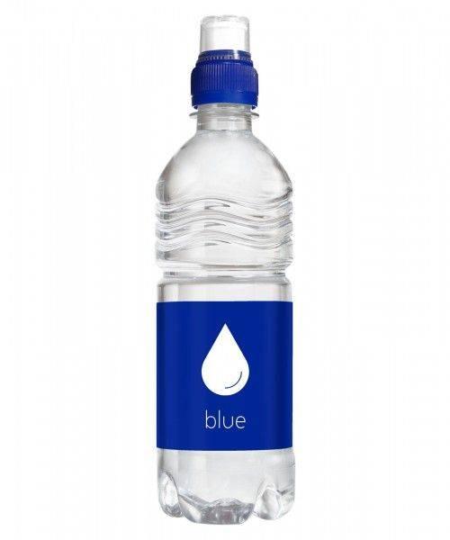 Wasser 500 ml Sportverschluss