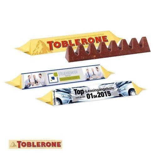 TOBLERONE, 35 g mit Werbeschuber