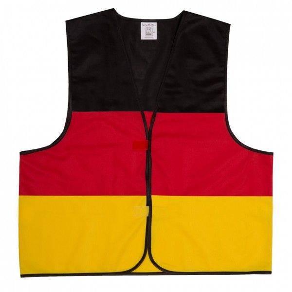 """Funweste """"Deutschland"""" ohne Reflektionsstreifen"""