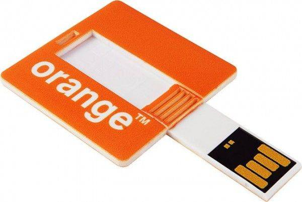 USB Stick Square Card